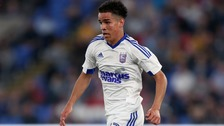 Ipswich Town youngster Tristan Nydam