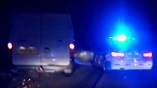 Driver who reversed on M6 jailed for nearly two years