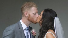 Ben Stokes and Clare Ratcliffe