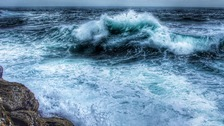 Gales and big waves expected by the time we reach Monday