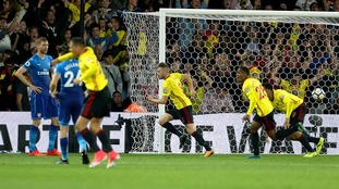 Arsenal let lead slip as they suffer defeat at Watford