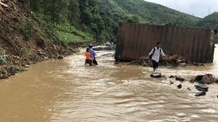 At least 68 dead in Vietnam floods and landslides