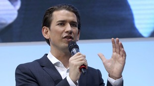 People Party's leader Sebastian Kurz claims election victory in Austria