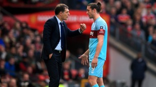 Andy Carroll's 'bad decision' angers West Ham boss Slaven Bilic