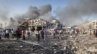 More than 300 dead after weekend truck bomb attack in Somalia