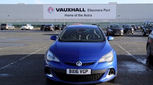 Vauxhall to cut 400 jobs at Ellesmere Port factory in Cheshire