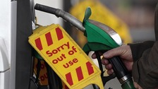 Government advice prompted panic buying at the pumps last week.