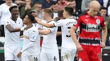 Clement praises Swans attack during Huddersfield win