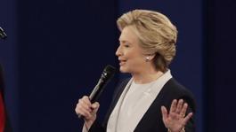 Hilary Clinton at Cheltenham Literature Festival