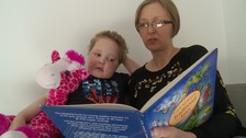 Erin Cross from Chester was diagnosed with leukaemia at two-years-old.