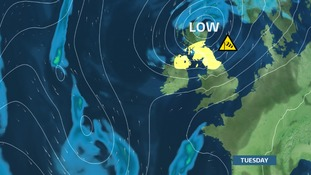 Winds could be stronger for our patch as we head towards Tuesday's morning rush hour