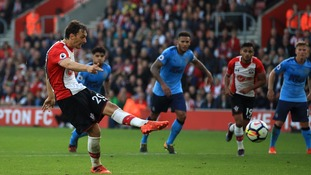 Manolo Gabbiadini scores twice to help Southampton draw at home with Newcastle