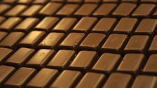 Super-sized chocolate bars will be banned in hospital shops and canteens.