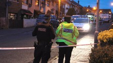 "The Northern Ireland Ambulance Service said the victim suffered ""lacerations to the head."""