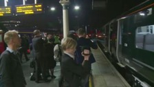 New high speed train suffers delay on first day
