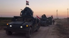 Iraqi military retake city of Kirkuk from Kurdish forces