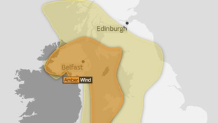 Amber warnings of storm-force winds for ex-Ophelia