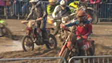 The annual beach race is one of the world's most extreme off-road tracks.