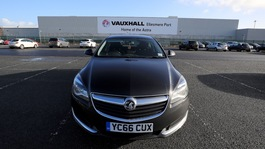 Vauxhall to cut 400 jobs at Ellesmere Port factory