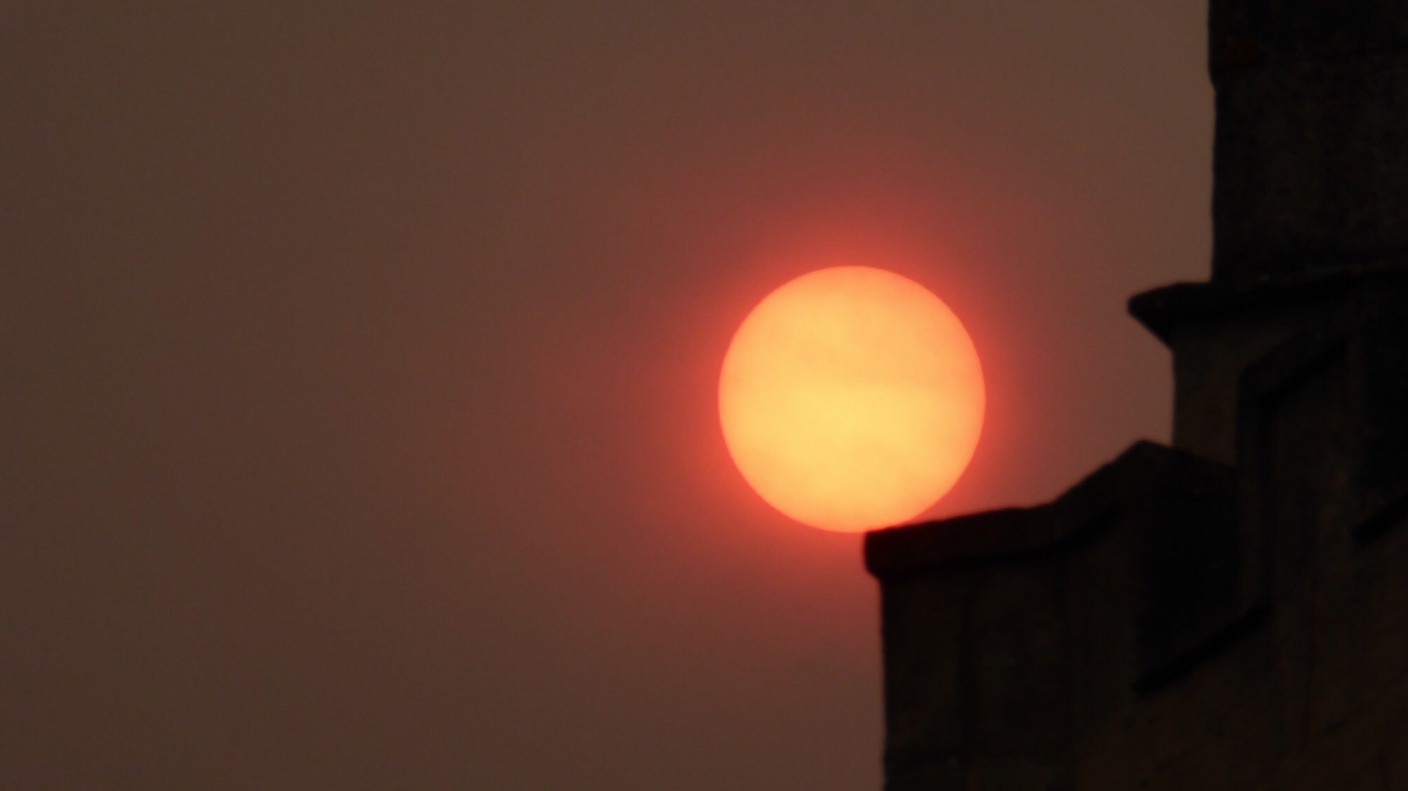 What is going on with the sun today? Your pictures!