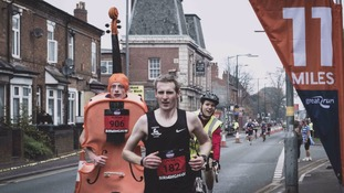 Student scoops second marathon world record in a year