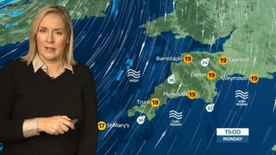 Strong gusts in the South West