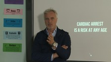 David Ginola: 'My heart stopped for nine minutes'