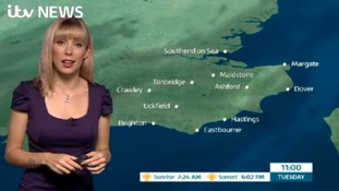 Tuesday's early morning weather with Holly