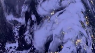 Sat pic of storm