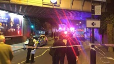 One man has died following a stabbing outside Parsons Green tube station