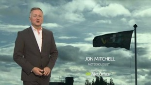 Will Jon Mitchell's early weather forecast blow you over?