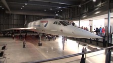Last Concorde now on show at Aerospace Bristol