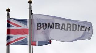 bombardier flag