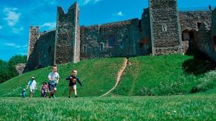 The real Framlingham Castle