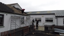 Castle Douglas scout hut roof blown off in high-force winds