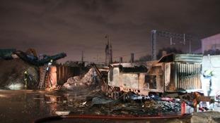 Investigation underway after industrial machinery fire