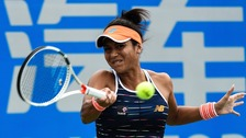 Watson wins first main draw match since Wimbledon