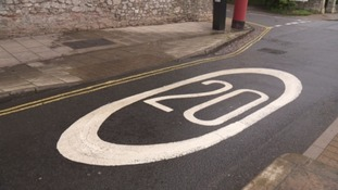 A survey found 70% of adults support a 20mph speed limit on busy streets.