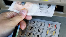 Third ATM machine raided in West Cumbria