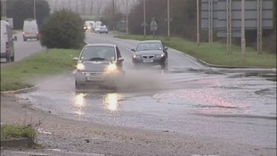Flooding, potholes, drivers