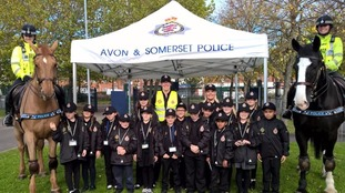 Year 5 children in Bristol become Mini Police