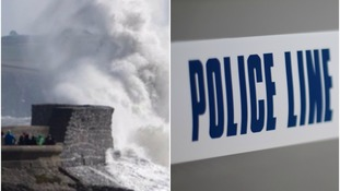 Thieves pose as police officers to steal from elderly couple during storm Ophelia