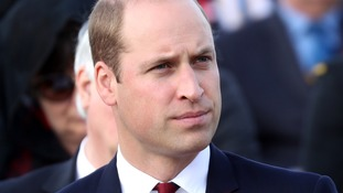 Prince William will go on tour without Kate next month