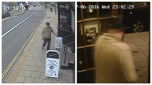 Barry was seen on CCTV entering a bar and leaving hours later