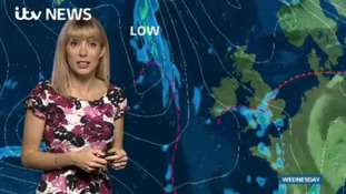 Holly has forecast in west for tonight and tomorrow