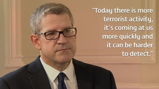 MI5 boss warns of 'dramatic' increase in UK terror threat
