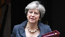 May meets Tory MPs concerned about Universal Credit roll-out