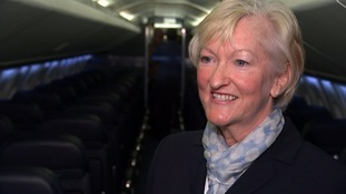 Christene Tanner worked as a member of Concorde's cabin crew.