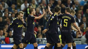 Champions League: Real Madrid 1-1 Spurs