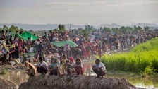 Exodus of Rohingya Muslims from Myanmar continues unabated